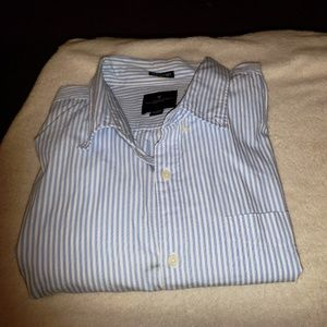 Stripped Collared Button Down